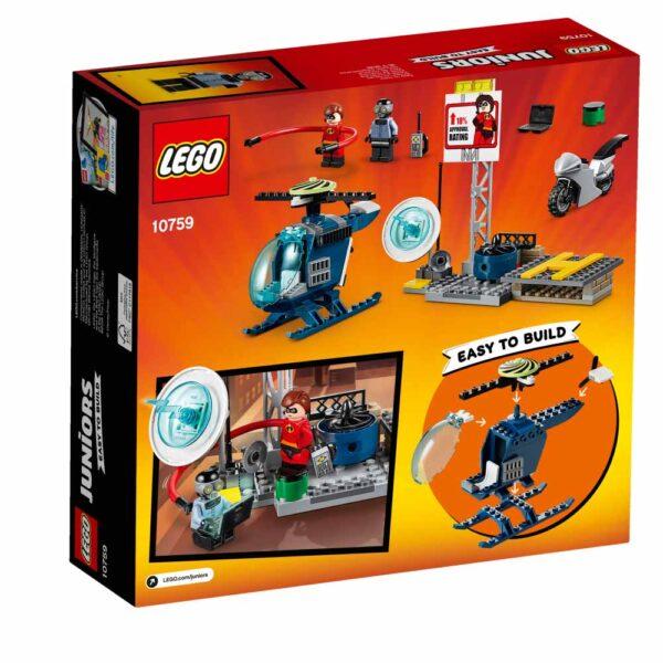10759 - Inseguimento sul tetto di Elastigirl - Best Seller Disney - DISNEY - Marche - LEGO JUNIORS - Costruzioni