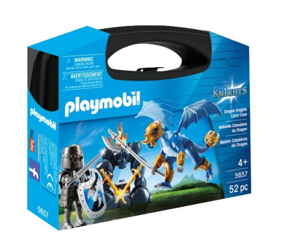 CARRY CASE CAVALIERE - Playmobil - Knights - Toys Center Playmobil Knights Maschio 3-4 Anni, 5-7 Anni, 8-12 Anni ALTRI