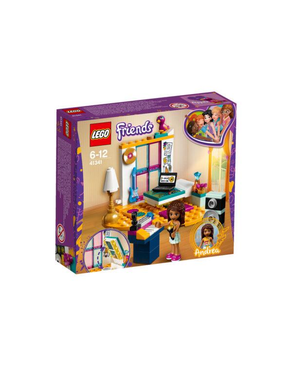 ALTRI LEGO FRIENDS Unisex 12+ Anni, 5-8 Anni, 8-12 Anni LEGO Friends  - La cameretta di Andrea - 41341