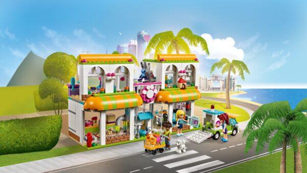 LEGO FRIENDS ALTRI 41345 - Il centro degli animali domestici di Heartlake City - Lego Friends - Toys Center Unisex 12+ Anni, 5-8 Anni, 8-12 Anni