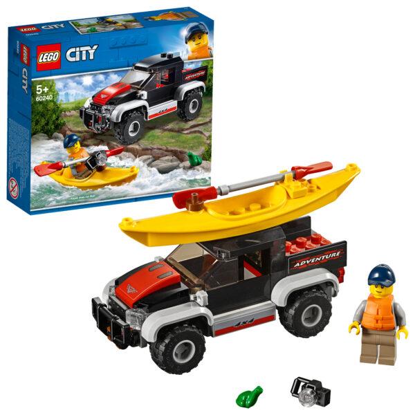 60240 - Avventura sul kayak - LEGO CITY - Costruzioni