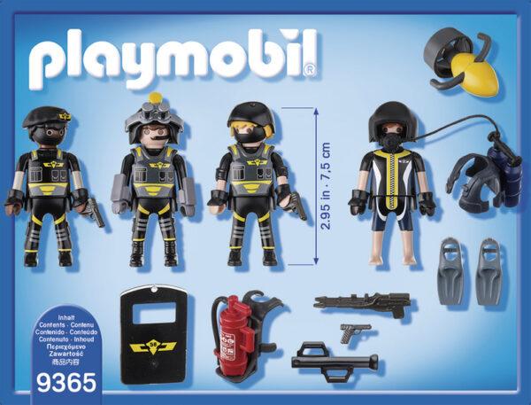 PLAYMOBIL - CITY ACTION ALTRI SQUADRA D'ASSALTO DELLA POLIZIA - Playmobil - City Action - Toys Center Maschio 12+ Anni, 3-5 Anni, 5-8 Anni, 8-12 Anni