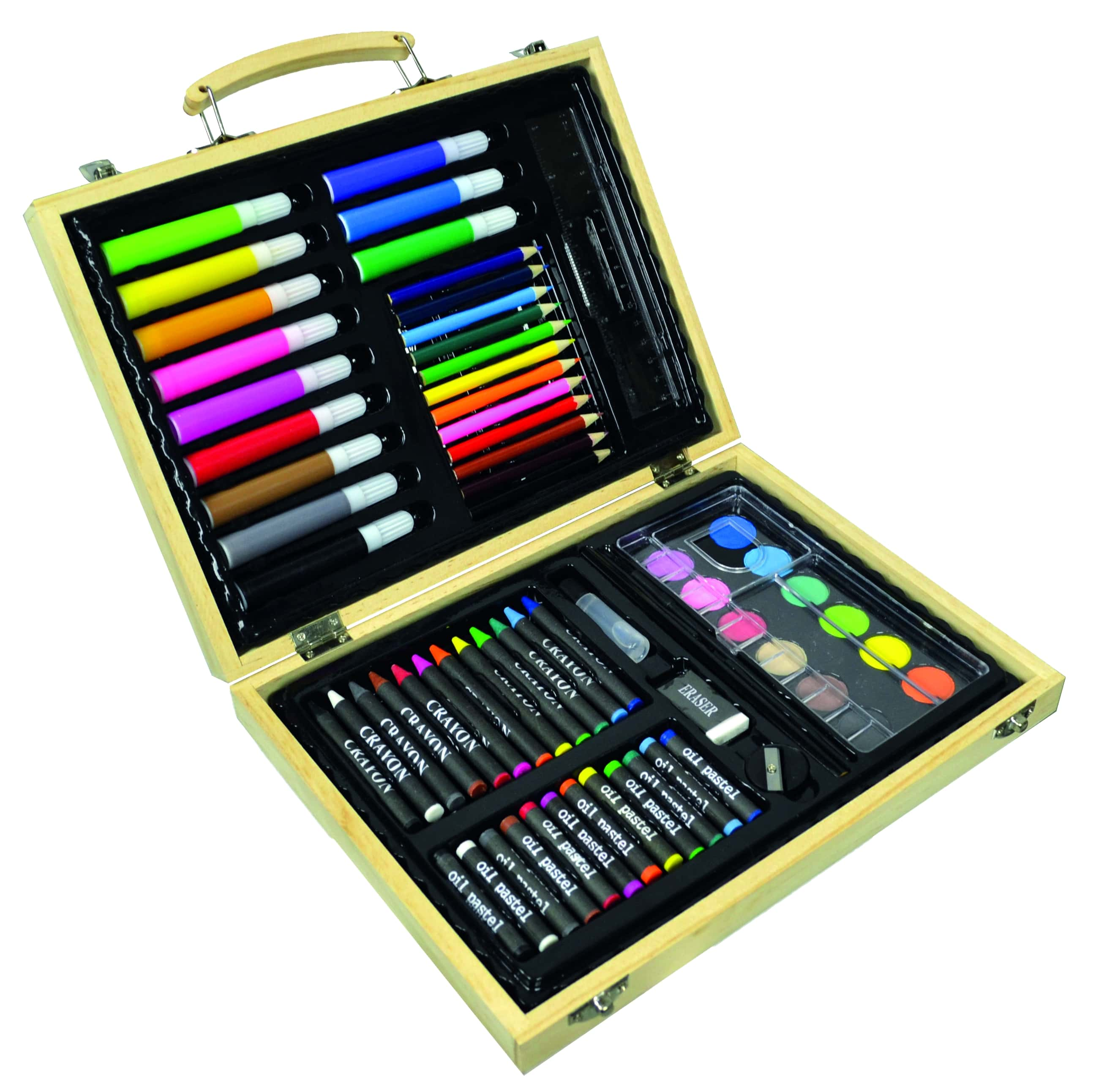 Creamania valigetta in legno colori 67 pz - CREAMANIA UNISEX