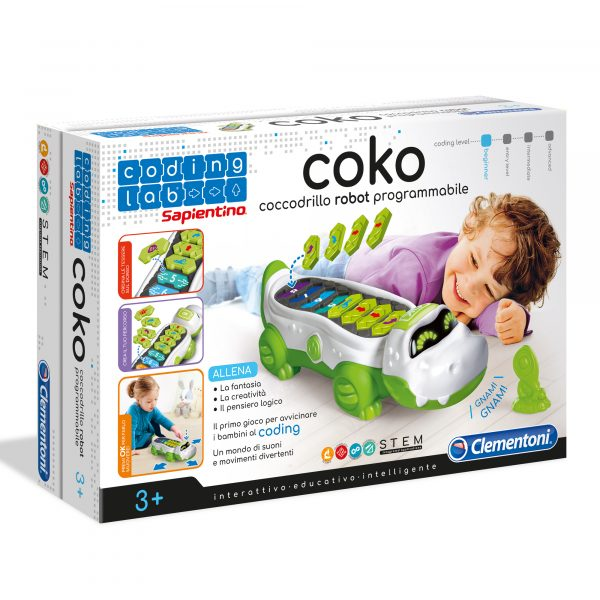 COKO - COCCODRILLO PROGRAMMABILE - Altro - Toys Center - ALTRO - Robot e giochi interattivi