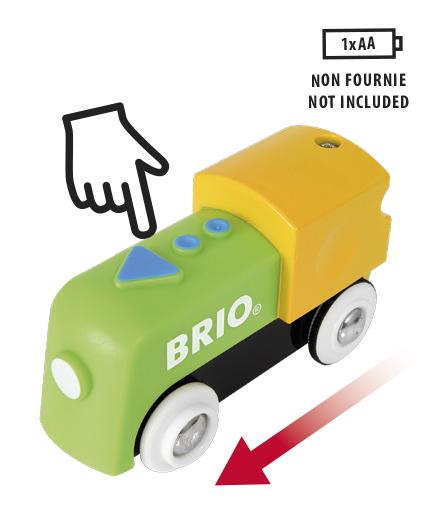 BRIO la mia prima ferrovia: locomotiva a batterie ALTRI Unisex 0-2 Anni, 12-36 Mesi, 3-4 Anni, 3-5 Anni BRIO