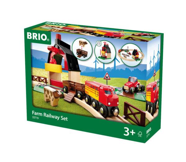 BRIO set ferrovia della fattoria - BRIO - IMPARIAMO GIOCANDO