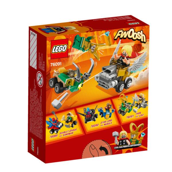 76091 - Mighty Micros: Thor contro Loki ALTRI Maschio 12+ Anni, 3-5 Anni, 5-8 Anni, 8-12 Anni LEGO SUPER HEROES