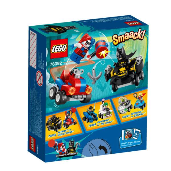 76092 - Mighty Micros: Batman™ contro Harley Quinn™ ALTRI Maschio 12+ Anni, 3-5 Anni, 5-8 Anni, 8-12 Anni LEGO SUPER HEROES