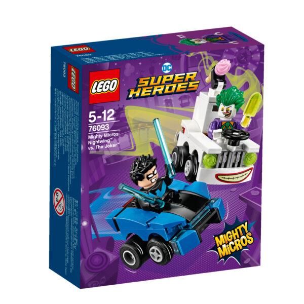 76093 - Mighty Micros: Nightwing™ contro The Joker™ - Lego Nuovi Arrivi - LEGO - Marche LEGO SUPER HEROES Maschio 12+ Anni, 3-5 Anni, 5-8 Anni, 8-12 Anni ALTRI