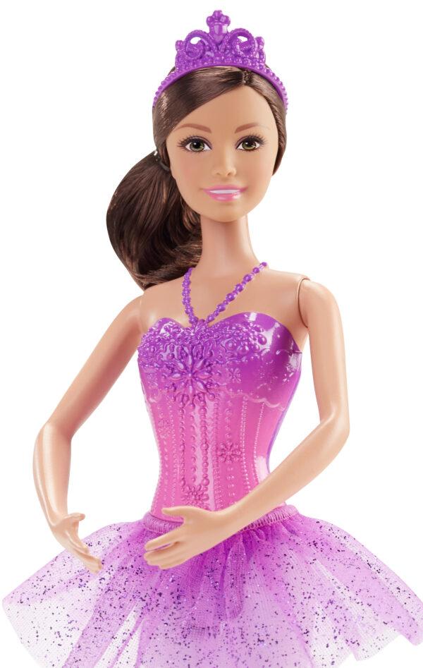 Barbie Fairytale - Bambola Ballerina, Abito Rosa, Bionda ALTRI Femmina 12-36 Mesi, 12+ Anni, 8-12 Anni Barbie