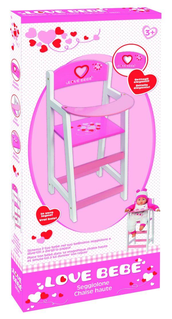 SEGGIOLONE - Love BebÈ - Toys Center LOVE BEBÈ Femmina 12-36 Mesi, 3-5 Anni, 5-8 Anni, 8-12 Anni ALTRI