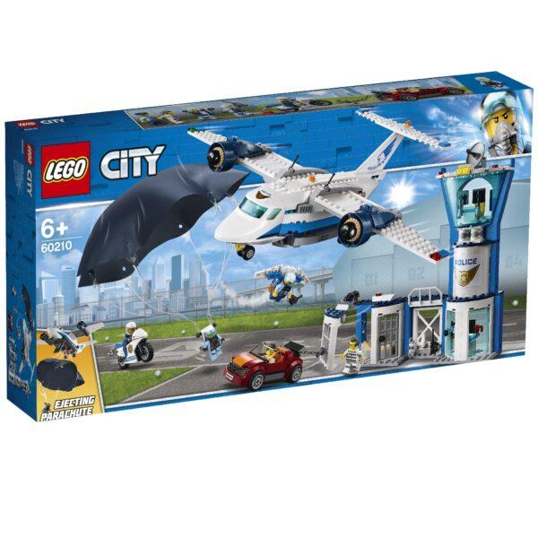 LEGO Base della Polizia aerea - 60210 LEGO CITY POLICE Unisex 12+ Anni, 5-8 Anni, 8-12 Anni ALTRI