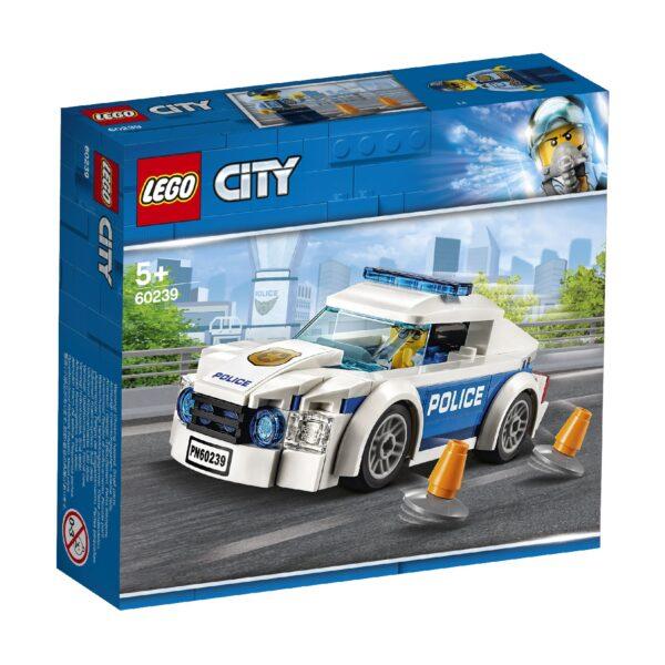 LEGO City Police - Auto di pattuglia della polizia - 60239 LEGO CITY POLICE Unisex 12+ Anni, 3-5 Anni, 5-8 Anni, 8-12 Anni ALTRI