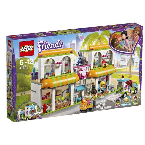 41345 - Il centro degli animali domestici di Heartlake City - Lego Friends - Toys Center LEGO FRIENDS Unisex 12+ Anni, 5-8 Anni, 8-12 Anni ALTRI