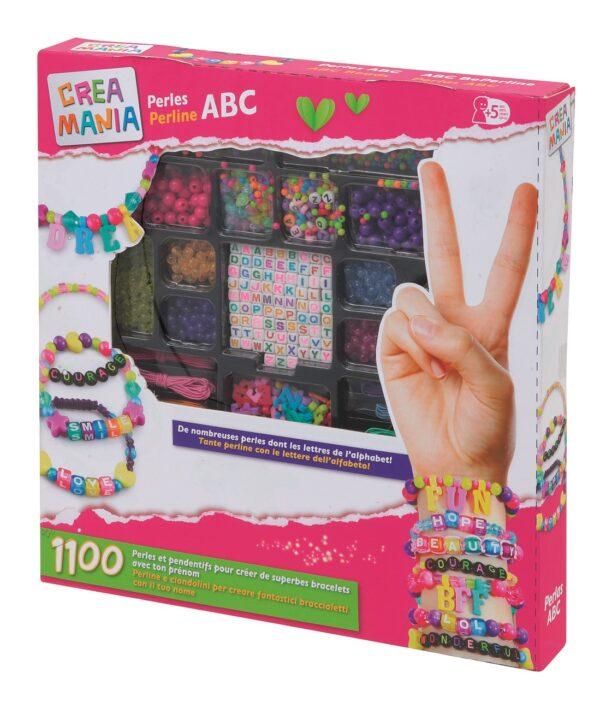 CREAMANIA PERLE ABC CREAMANIA GIRL Femmina 12+ Anni, 3-5 Anni, 5-8 Anni, 8-12 Anni ALTRI
