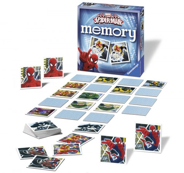 memory® Ultimate SpiderMan - Ravensburger - Memory - Toys Center Spiderman Unisex 12+ Anni, 8-12 Anni MEMORY
