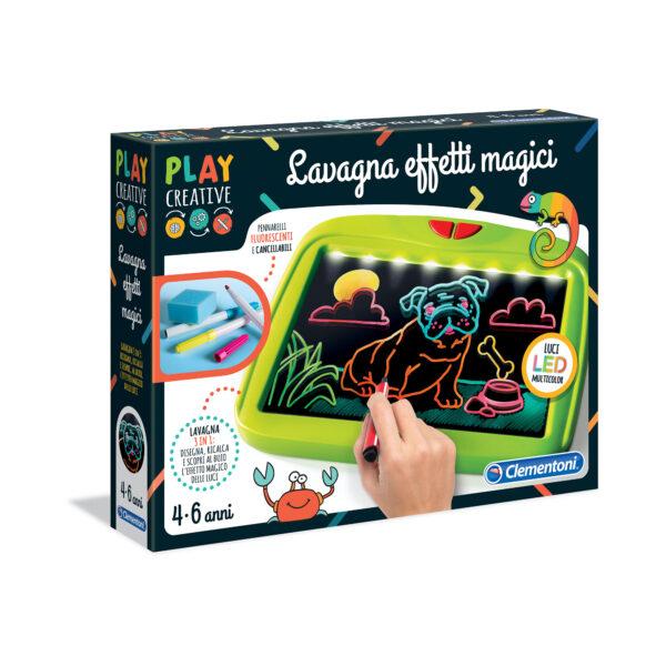 PLAY CREATIVE - LAVAGNA EFFETTI MAGICI PLAY CREATIVE Unisex 3-5 Anni, 5-8 Anni ALTRI