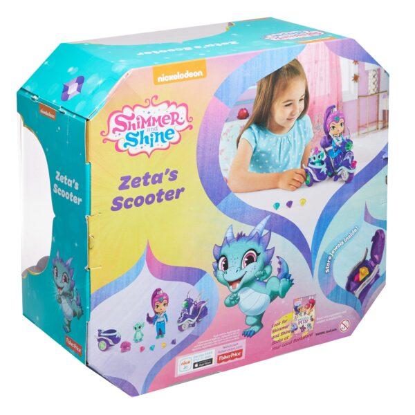 SHIMMER & SHINE Shimmer & Shine - Scooter di Zeta, grande bambola di Zeta con scooter e Nazboo 3+ anni - FHN31 ALTRO 12-36 Mesi, 12+ Anni, 3-5 Anni, 5-8 Anni, 8-12 Anni Femmina
