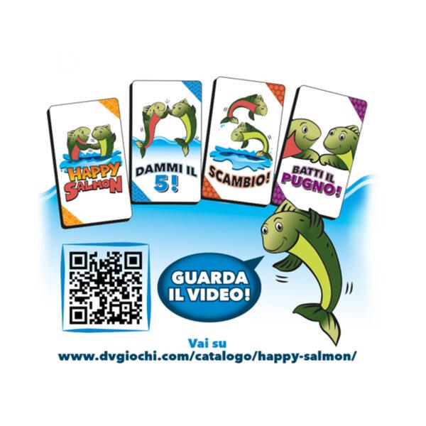 Happy Salmon - DV GIOCHI - Marche ALTRI Unisex 12+ Anni, 5-8 Anni, 8-12 Anni ALTRO