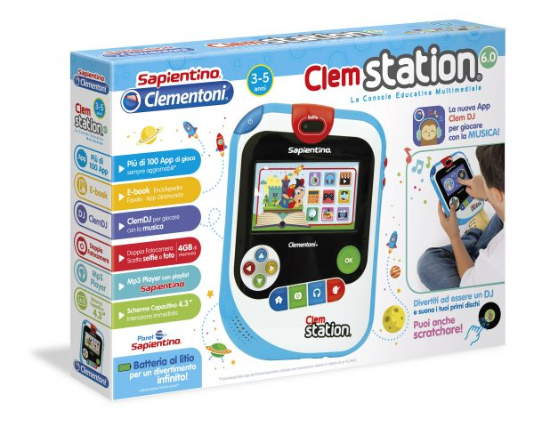 CLEMSTATION 6.0 - Giocattoli Toys Center ALTRO Unisex 12-36 Mesi, 3-5 Anni, 5-8 Anni ALTRI