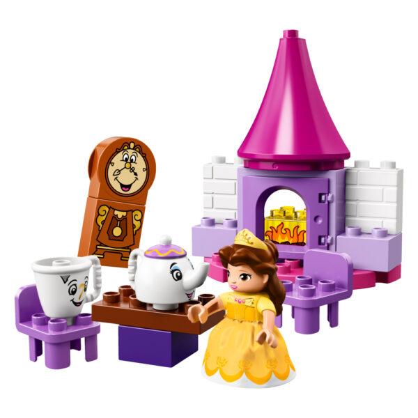 LEGO DUPLO PRINCIPESSE DISNEY 10877 - Il Tea-Party di Belle - Lego Duplo - Toys Center Femmina 12-36 Mesi, 3-5 Anni, 5-8 Anni