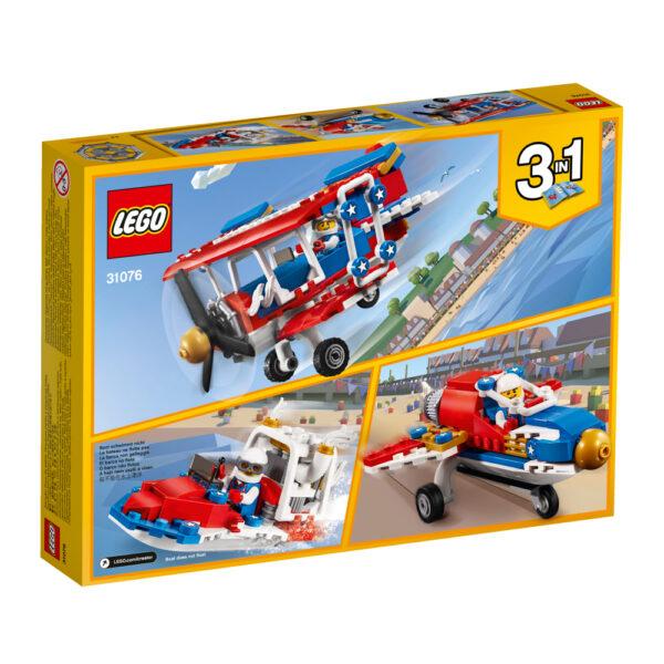 31076 - Biplano acrobatico - Lego Creator - Toys Center ALTRI Maschio 12+ Anni, 5-8 Anni, 8-12 Anni LEGO CREATOR