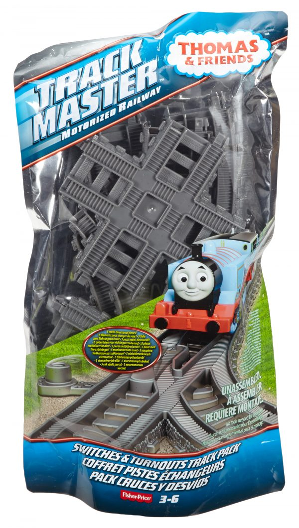 Il Trenino Thomas - TrackMaster - Rotaie rettilinee THOMAS & FRIENDS Maschio 12-36 Mesi THOMAS & FRIENDS