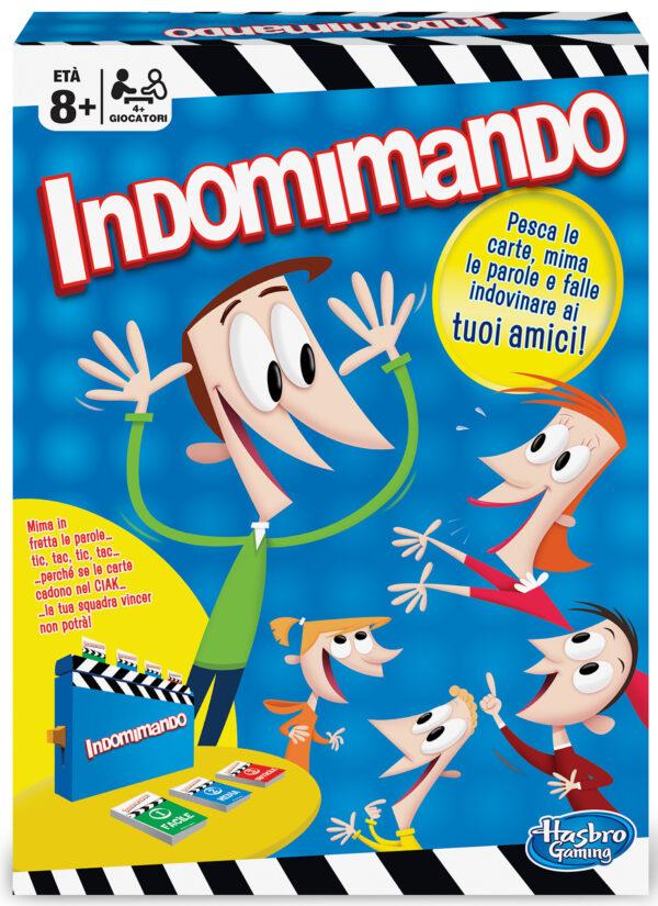 Indomimando Party - Hasbro Gaming - Toys Center HASBRO GAMING Unisex 12+ Anni, 5-8 Anni, 8-12 Anni ALTRI