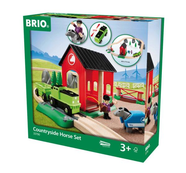 BRIO set ferrovia di campagna con cavallo - BRIO - Fino al -20%