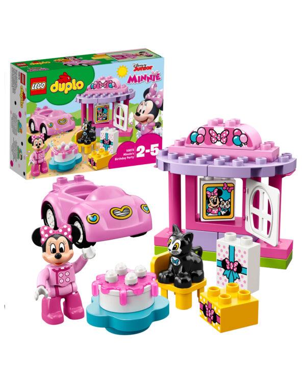 10873 - La festa di compleanno di Minnie - Lego Duplo - Toys Center LEGO DUPLO Unisex 12-36 Mesi, 12+ Anni, 3-5 Anni, 5-8 Anni, 8-12 Anni ALTRI