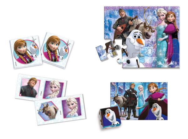 Edukit 4 in 1 Frozen - Disney - Giochi di intrattenimento e tablet