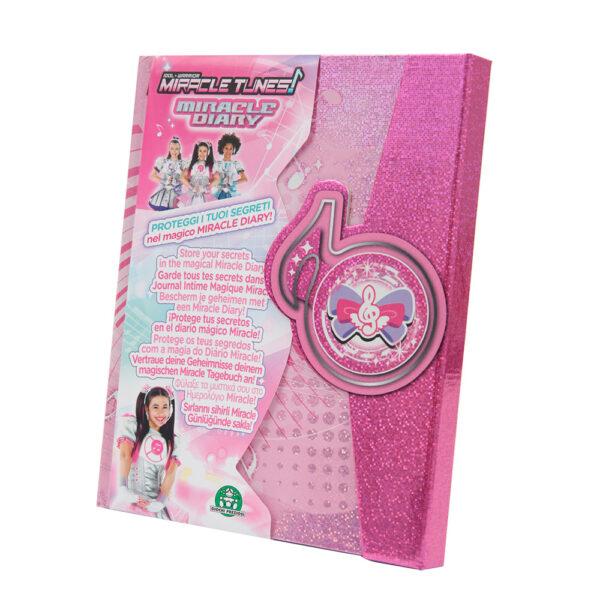 ALTRO ALTRI Giochi Preziosi - Miracle Tunes Diario Segreto - Altro - Toys Center Femmina 3-5 Anni, 5-8 Anni, 8-12 Anni