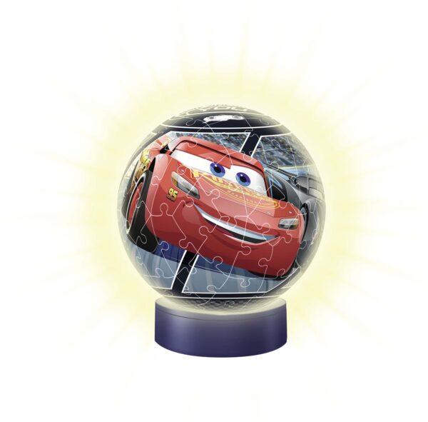 3D Puzzle Lampada Notturna - Cars 3 - Altro - Toys Center CARS Unisex 5-8 Anni, 8-12 Anni ALTRO