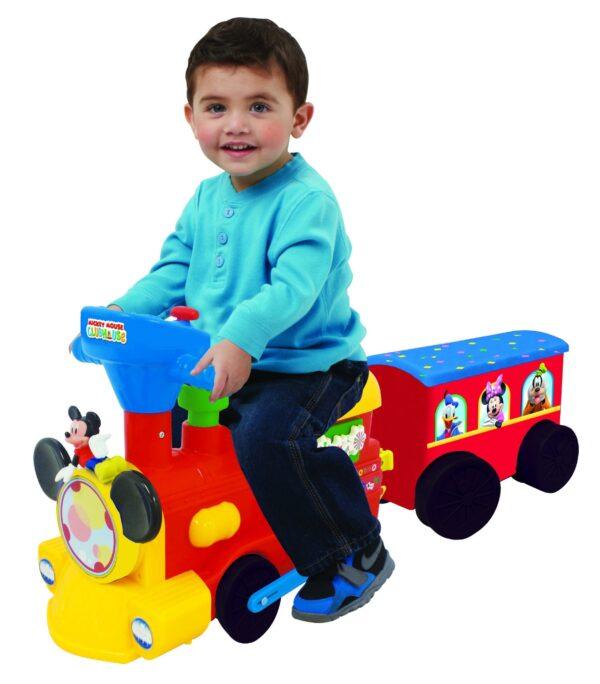 Treno Mickey Mouse cavalcabile ALTRI Unisex 0-12 Mesi, 0-2 Anni, 12-36 Mesi, 3-4 Anni, 3-5 Anni, 5-7 Anni SUPERSTAR