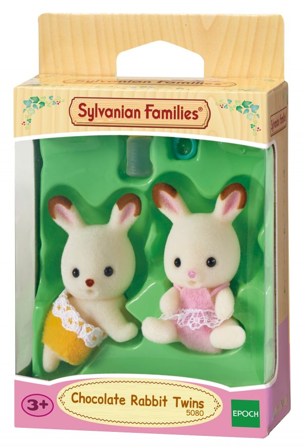 Gemelli Conigli cioccolato SYLVANIAN FAMILIES Femmina 12-36 Mesi, 3-4 Anni, 3-5 Anni, 5-7 Anni, 5-8 Anni, 8-12 Anni ALTRI