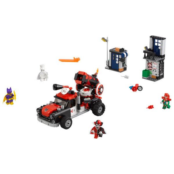 DC COMICS BATMAN 70921 - Attacco con il cannone di Harley Quinn™ - Dc Comics - Toys Center Maschio 12+ Anni, 5-8 Anni, 8-12 Anni