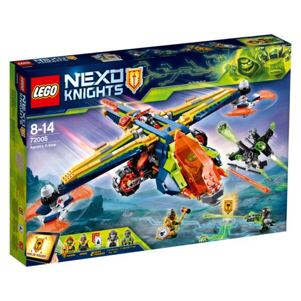72005 - X-bow di Aaron - Lego Nexo Knights - Toys Center - LEGO NEXO KNIGHTS - Costruzioni