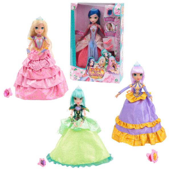 ALTRO REGAL ACADEMY Regal Academy Diamond Princess con Anellino Make Up, Bambola Joy Femmina 12-36 Mesi, 3-5 Anni, 5-8 Anni