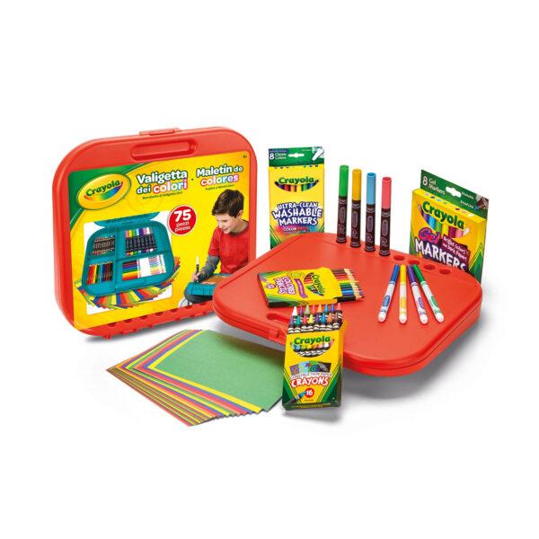 ALTRO ALTRI Valigetta dei Colori Crayola Unisex 12+ Anni, 3-5 Anni, 5-8 Anni, 8-12 Anni