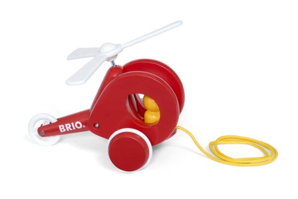 BRIO Elicottero Trainabile - Brio Giochi Pedagogici - Toys Center BRIO GIOCHI PEDAGOGICI Unisex 0-12 Mesi, 12-36 Mesi, 3-5 Anni, 5-8 Anni, 8-12 Anni ALTRI
