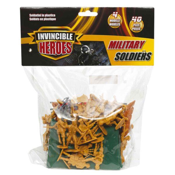 INVINCIBLE HEROES Soldatini militari 40pz INVINCIBLE HEROES Maschio 12-36 Mesi, 3-4 Anni, 3-5 Anni, 5-7 Anni, 5-8 Anni ALTRI