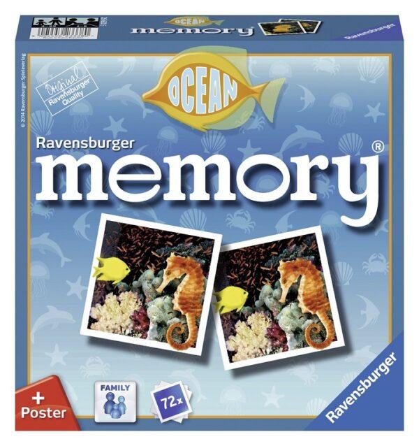 Memory® Sea Animals MEMORY Unisex 3-4 Anni, 3-5 Anni, 5-7 Anni, 5-8 Anni, 8-12 Anni ALTRI