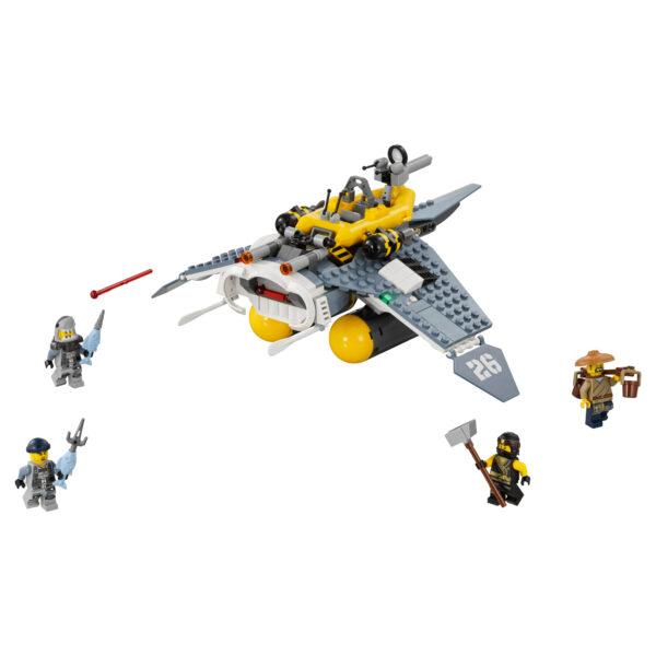 LEGO NINJAGO ALTRI 70609 - Bomber Manta Ray - Lego Ninjago - Toys Center Maschio 12+ Anni, 5-8 Anni, 8-12 Anni