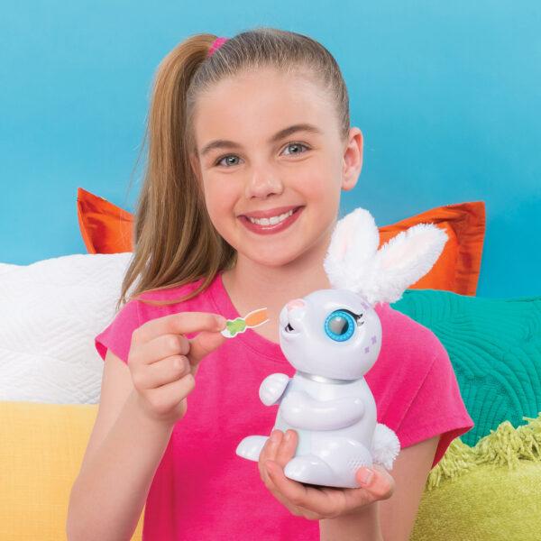 ZOOMER Coniglio Hungry Bunny Ass.to - Zoomer - Toys Center ALTRI Unisex 12+ Anni, 3-5 Anni, 5-8 Anni, 8-12 Anni Spin Master