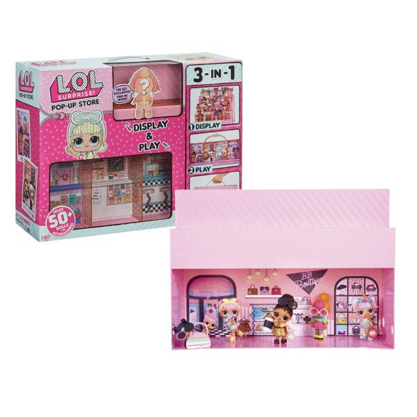 Giochi Preziosi - Lol Pop Up Store con Accessori, Gioca, Esponi e Raccogli le LOL LOL Femmina 12-36 Mesi, 8-12 Anni ALTRI
