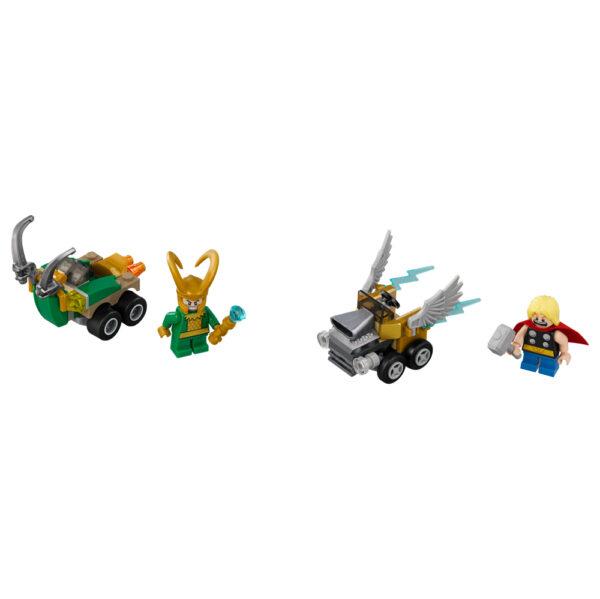 LEGO SUPER HEROES ALTRI 76091 - Mighty Micros: Thor contro Loki Maschio 12+ Anni, 3-5 Anni, 5-8 Anni, 8-12 Anni