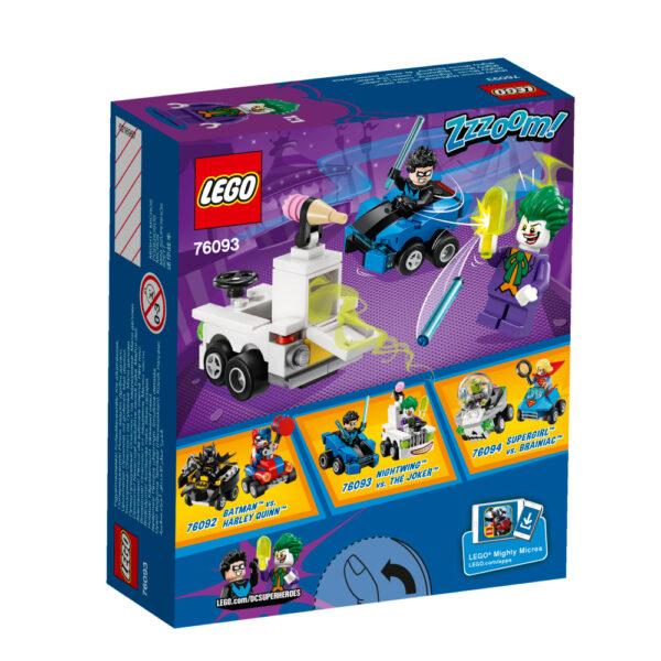 76093 - Mighty Micros: Nightwing™ contro The Joker™ - Lego Nuovi Arrivi - LEGO - Marche ALTRI Maschio 12+ Anni, 3-5 Anni, 5-8 Anni, 8-12 Anni LEGO SUPER HEROES