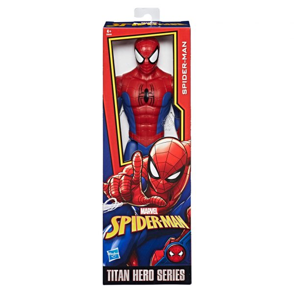Spider-Man Titan Hero - Marvel - Toys Center Marvel Maschio 12+ Anni, 8-12 Anni Spiderman