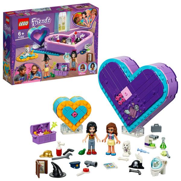 41359 - Pack dell'amicizia Scatola del cuore - Lego Friends - Toys Center LEGO FRIENDS Unisex 12+ Anni, 5-8 Anni, 8-12 Anni ALTRI