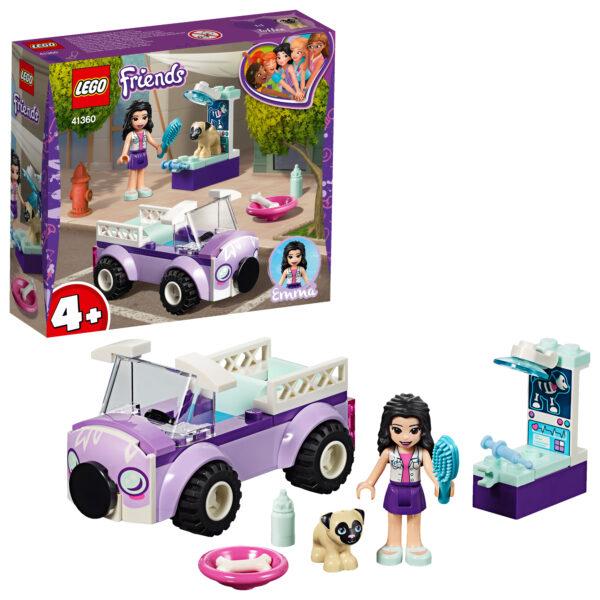 41360 - La clinica veterinaria mobile di Emma - Lego Friends - Toys Center - LEGO FRIENDS - Costruzioni